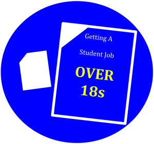 Getting a student job - over 18